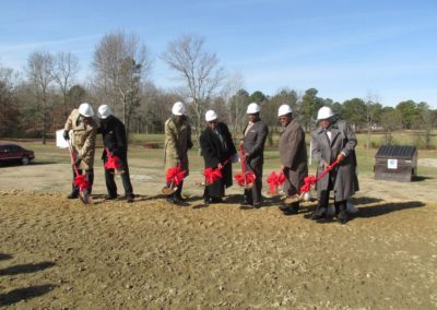 Old Liberty Missionary Baptist Church - Breaking Ground
