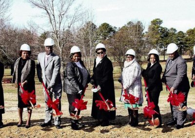 Old Liberty Missionary Baptist Church - Trustees Breaking Ground